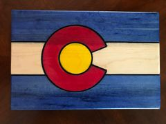 Colorado Flag Wall Hanging