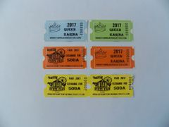 1000 Redemption Thermal Tickets