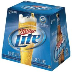 Miller Lite - 12 pack bottle