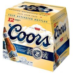 Coors - 12 pack bottle