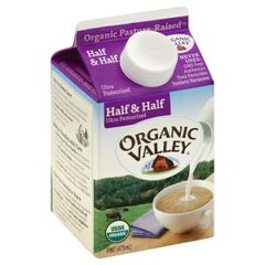 Organic pint Half & Half
