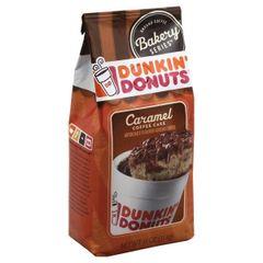 Dunkin' Donuts Caramel Coffee Cake