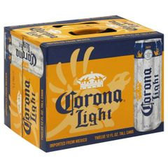 Corona Light Cans