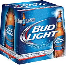 Bud Light - 12-pack bottles