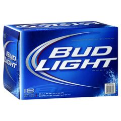 Bud Light cans 18 count