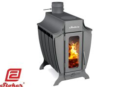 STOKER 150 WOOD BURNING STOVE WITH COOKING TOP