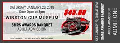 2018 SMRS Awards Banquet Adult Ticket