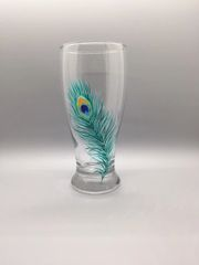 Peacock Feather 19 oz Pilsner