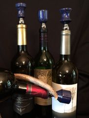 Blue and Grey Wine Stopper
