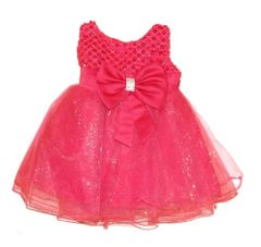Tia London Hot Pink Party Dress - Ages 3-24 months