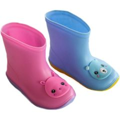 Soft Touch infant rain/wellington boots. Baby Pink or Baby Blue to fit ages 18-30mths (Euro 20-22)