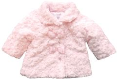 Zip-Zap Rosebud Pink Fluffy Jacket