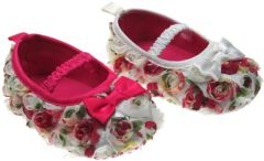 Rosebud gripper soled shoes