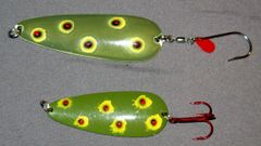 Green Bleeding Frog Spoon