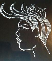 Afro lady w/Mohawk