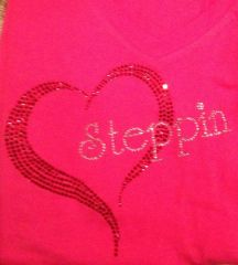 Heart with Steppin