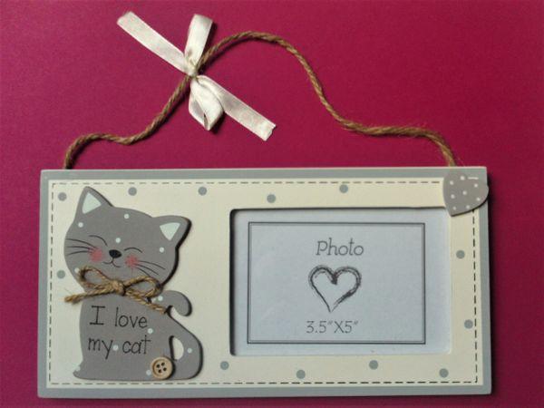 I Love My Cat Photo Frame Hydris Ltd