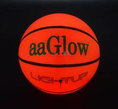 LED GLOW RUBBER BASKETBALL-B2