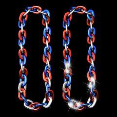 "38"" JUMBO LINK CHAIN Tricolor"