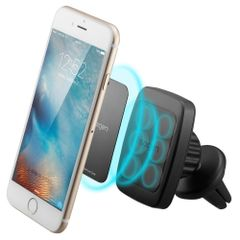 MagGrip Air Vent Magnetic Universal Car Mount Holder for Smartphones including iPhone 6, 6S, Galaxy S7, S6 Edge - Black