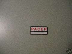 61778-62 Fuel Tank Decal Pacer