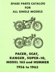 99452-65 Parts Catalog for the 1956 - 1965 models