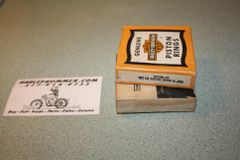 "NOS 22338-53 .030"" Piston Ring Set Harley 165"