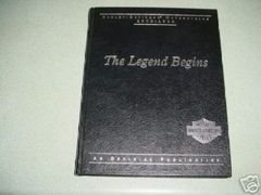 The Legend Begins Book