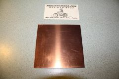 "Copper Head Gasket Material .0216"" x 4"" x 4"""