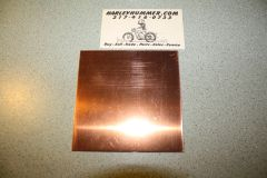 "Copper Head Gasket Material .0162"" x 4"" x 4"""