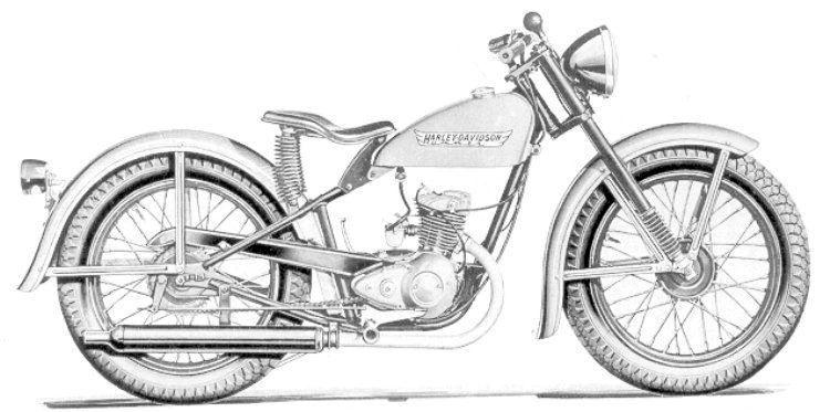 Harley Hummer , Harley 165 , Harley 125, Antique Harley Davidson