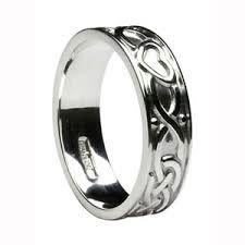 Ring - Celtic Heart - Ladies - Silver - Boru #WED274