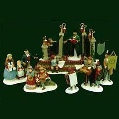 Department 56 - Dickens Village - A Christmas Carol Reading by Charles Dickens - # 58404