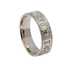 Ring - Celtic Warrior -Boru - 6mm - #WED33-C - Sterling