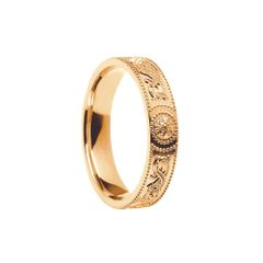 Ring - Celtic Warrior - Boru WED24C - 4.4mm - 10ct gold