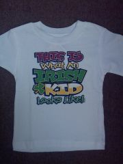T Shirt - Child - This is what an Irish Kid Looks Like - 2T