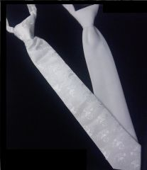 Tie - White - Child - First Communion