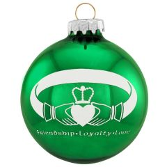 Christmas Ornaments - Nationality and Irish Blessings