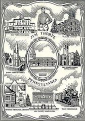 Afghan - The Town of Jim Thorpe, PA