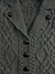 Sweater - Ladies Cardigan - Thundra Color