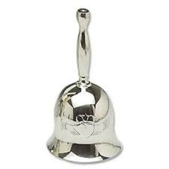 Wedding Bell - Pewter with Claddagh - Mullingar P83