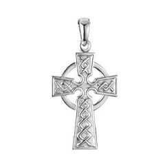 Necklace - Celtic Cross - Sterling - Solvar #S4940