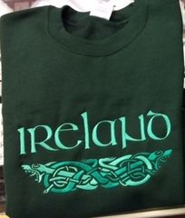 Sweatshirt - Ireland Dragon - Sexton #6010