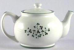 Teapot - Small with Shamrocks