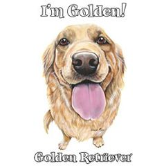 I'm Golden - Golden Retriever - T-shirt