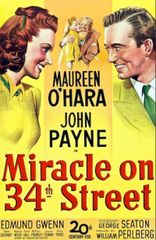 Miracle On 34th Street, Saturday December 22 at 7:00 pm