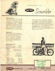 1964 VanTech 2B Scrambler Promotional Flyer