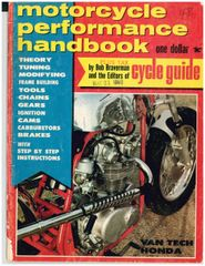 """Building the VanTech Honda 450"" by Bob Braverman - Motorcycle Performance Handbook (May 1968)"