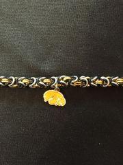 Iowa hawkeye byzantine weave