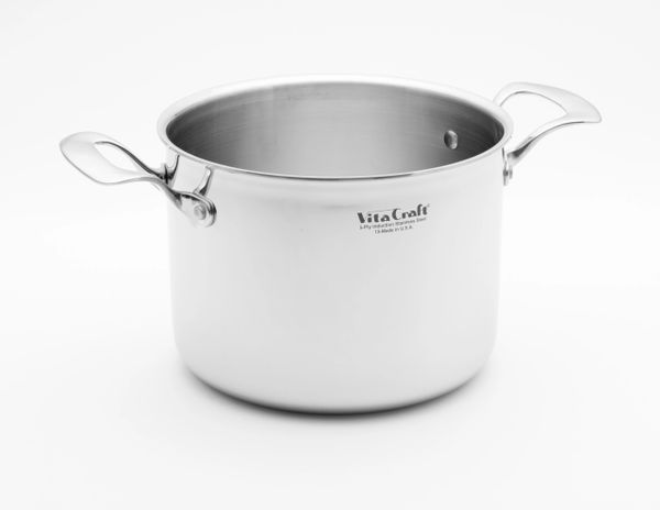 Commercial 6 Quart Pan Vita Craft Corporation Made In